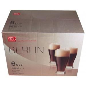 sklenice 480 ml BERLIN- sada 6 ks