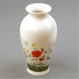 Váza ker. MÁK 25cm