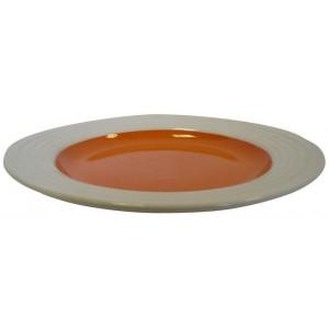 Talíř dezertní,  22 x 3 cm keramika