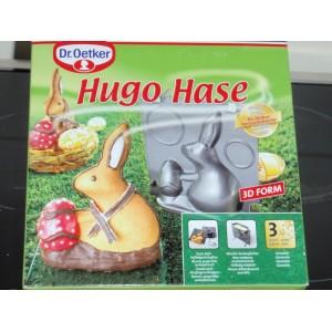 Forma na pečení, 3D Zajíc s vajíčkem