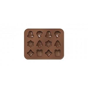 Tescoma: Formičky na čokoládu DELÍCIA CHOCO, vánoční motivy