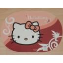 Prostírání Hello Kitty ovál, 42x29cm